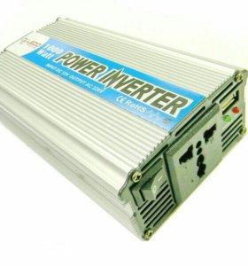 Инвертор авто.12V-220V 1000W LEDO Standart