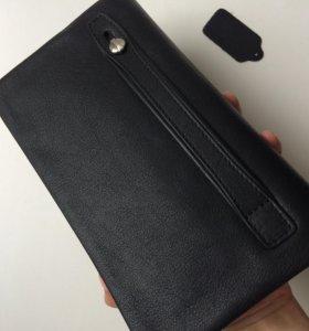 Новый кожаный кошелек/партмане