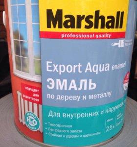 Краска маршал белая глянец 2,5 л