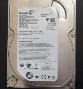 Жесткий диск Seagate 500Gb-3,5 Sata
