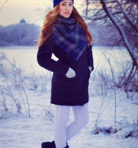 Парка зимняя женская