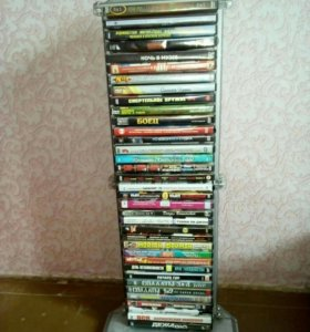 Полка напольная для 36 dvd дисков