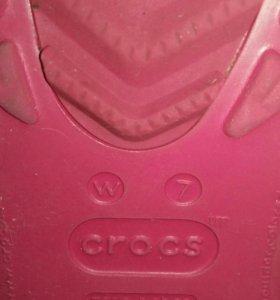 Резиновые сапоги Crocs 7