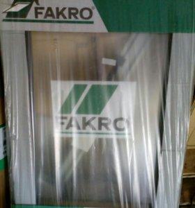 Мансардное окно FAKRO 66*98 + оклад 1 шт