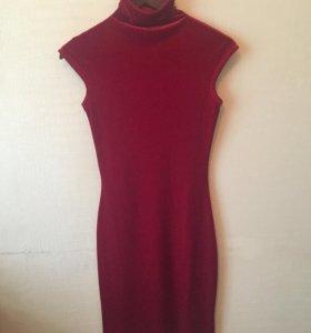 Бархатное платье Monica Ricci 42 размер
