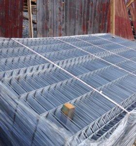 секции заборный оцинкованные 1500*2500 мм