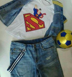 Футболка с рубашкой