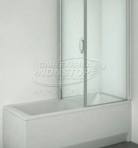 Продам шторку для душа из закаленного стекла