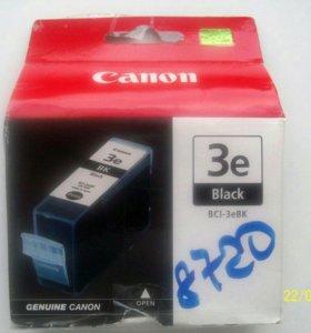 Картридж Canon BCI-3eBK Black (чёрный)