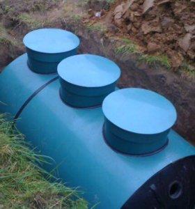 Автономная канализация ,септики