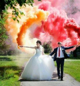 Цветной дым, дымовые шашки JFS-2