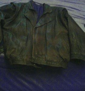 Куртка кожаная мужская 48-50 р