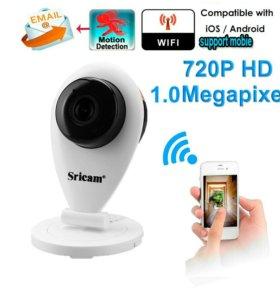 Видеоняня, ip-камера видеонаблюдения Sricam sp009