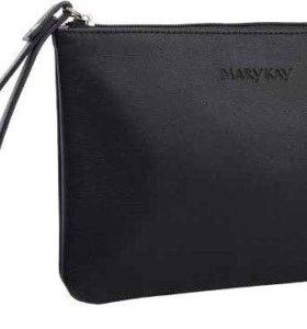 Mary Kay косметичка клатч черного цвета
