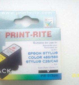 Картридж epson Stylus color 480/580 Stylus C20/C40
