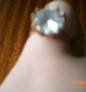 Кольцо с жемчуженкой