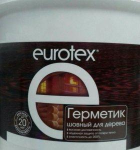 Герметик шовный для дерева Евротекс
