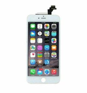 Дисплей для iPhone 6 Plus с сенсером, бел.