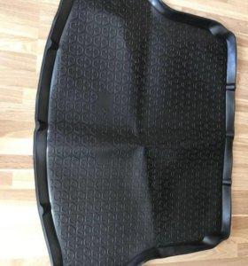 Коврик в багажник для Nissan x - trail t32