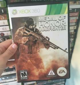 Диск Меdal of Honor Warfighter на Xbox 360