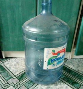 Бутылки для воды 19л