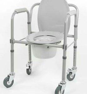 Инвалидное кресло и стул-туалет