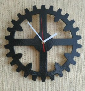 Часы настенные Шестерня