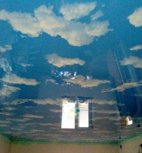 Натяжные потолки