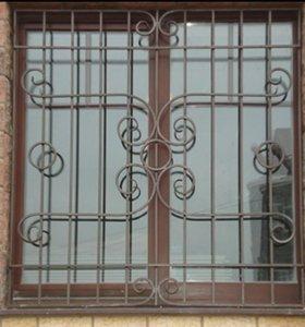 Решётки на окна и балконы