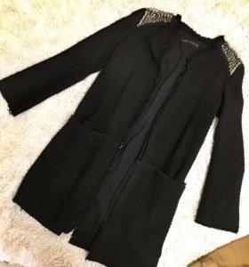 Длинный пиджак/пальто/накидка