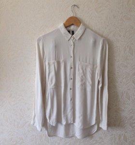 Белая рубашка Mango