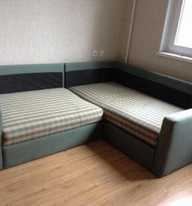 Ikea угловой диван