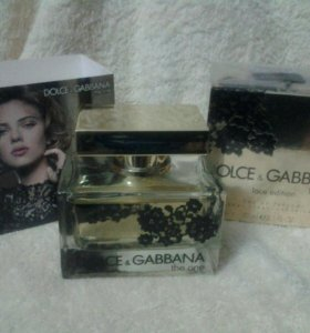 "Dolce Gabbana ""The One Lace Edition for women 75ml"