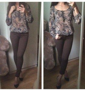 Новые джинсы/ блуза