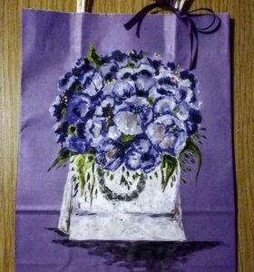 Подарочные арт пакеты и открытки