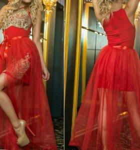 Вечернее (коктейльное) платье (размер 44-46)