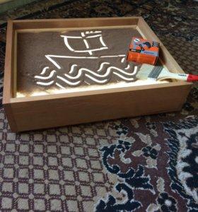 Центр для рисования песком