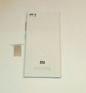 Задняя крышка для Xiaomi MI3, белая