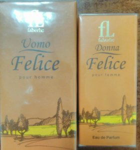 Новый набор женская и мужская парфюмерия