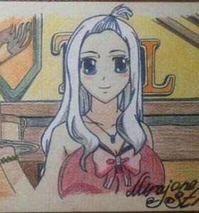 Рисунки аниме.
