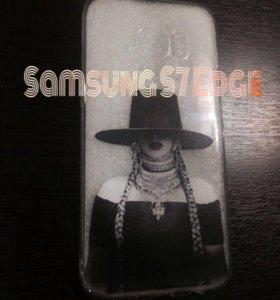 Чехол на Samsung S7 edge
