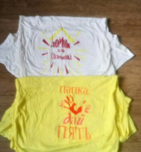 Сарафаны, футболки
