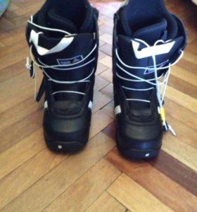 Сноубордические ботинки burton 39-40 размер