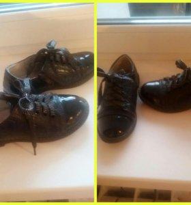 Туфли девечьи подойдут в школу в первый класс