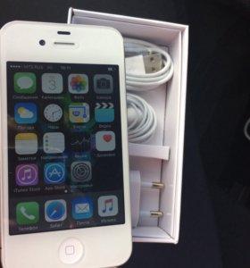 Белый IPhone 4s 16гб