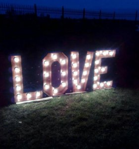 Светящиеся буквы
