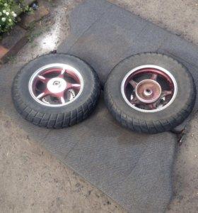 Колеса для скутера