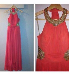 Платье длинное 40-42