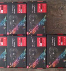 Asus Radeon RX 570 Strix Gaming 4 GB. OC Edition.