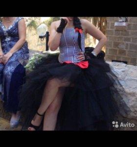 Платье корсет и две юбки